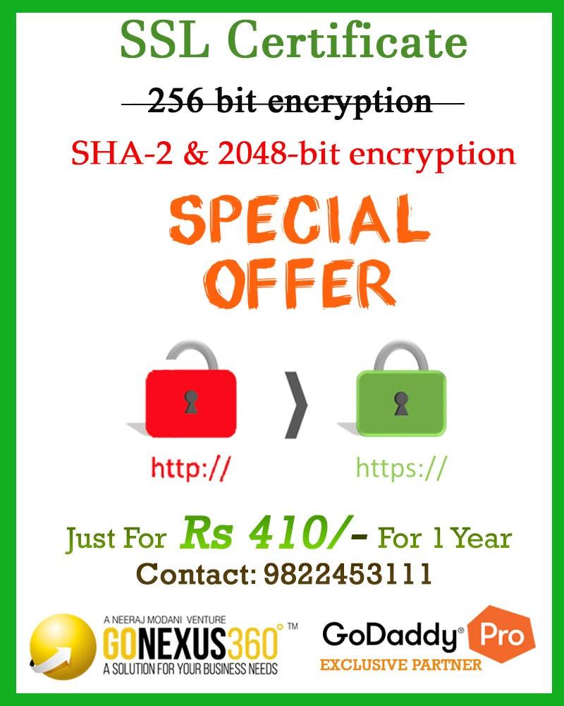 SSL Certificate Offer