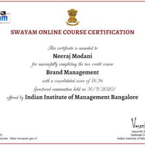 certificate---Swayam